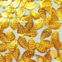 Gold colour Sequins, 15mm x 20mm, 20 slices, (CZP014)